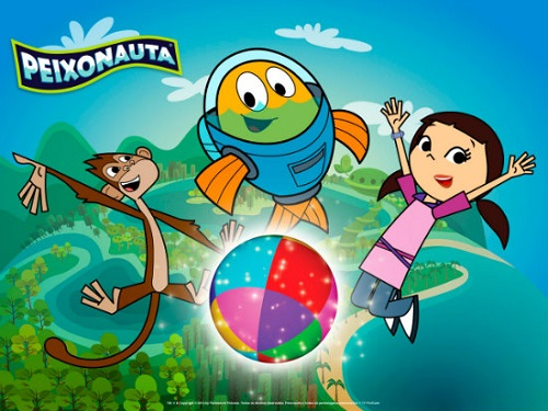 『Peixonauta』 (c)TV PinGuim, Discovery Kids