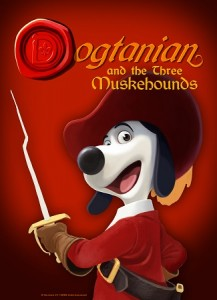 3DCG長編アニメーション映画『Dogtanian and the Three Muskehounds』 © BRB International - Mili Pictures